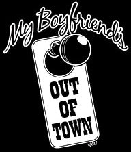 My Boyfriend Is Out Of Town Hoodie