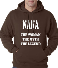 Nana The Woman The Myth The Legend Adult Hoodie