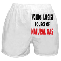 Natural Gas Boxer Shorts