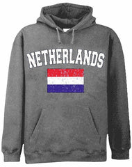 Netherlands Vintage Flag International Hoodie