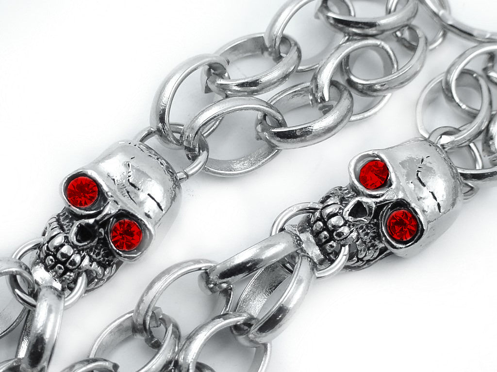 New Blood Eyes Skull Jean Chain