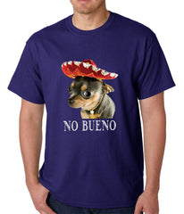No Bueno - Chihuahua Wearing Sombrero Mens T-shirt