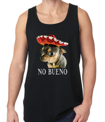 No Bueno - Chihuahua Wearing Sombrero Tank Top