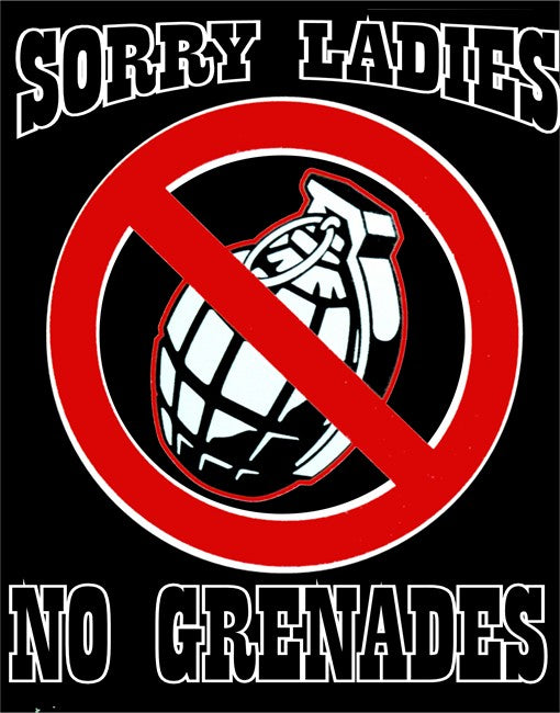 No Grenades T-Shirt