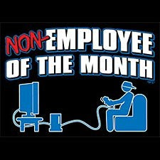 Non-Employee Of The Month Men's T-Shirt