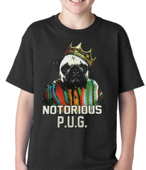 Notorious Pug Life Kids T-shirt