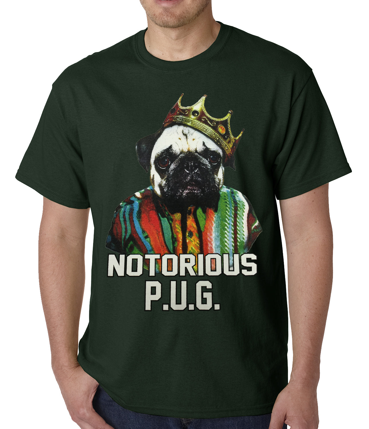 Notorius Pug Life Mens T-shirt