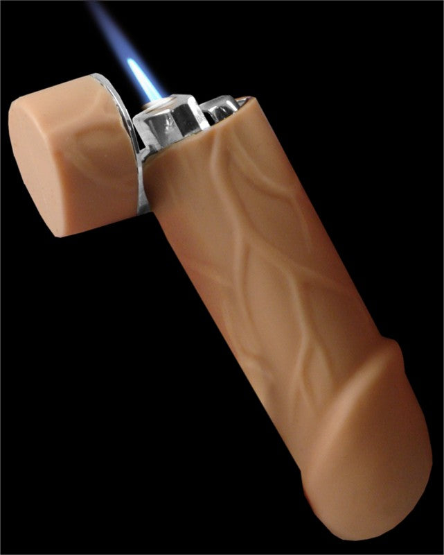 Novelty Real Look & Feel Penis Dick Torch Lighter