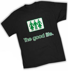 Novelty T-Shirts - The Good Life Threesome T-Shirt