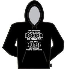 Nurse Knows Whats Going On Hoodie