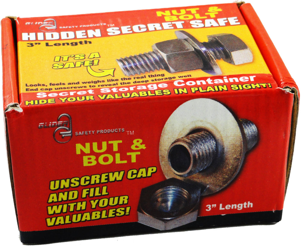Nut & Bolt Secret Diversion Safe