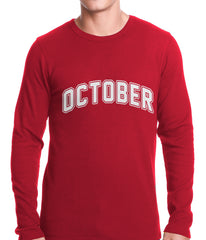 October Thermal Shirt