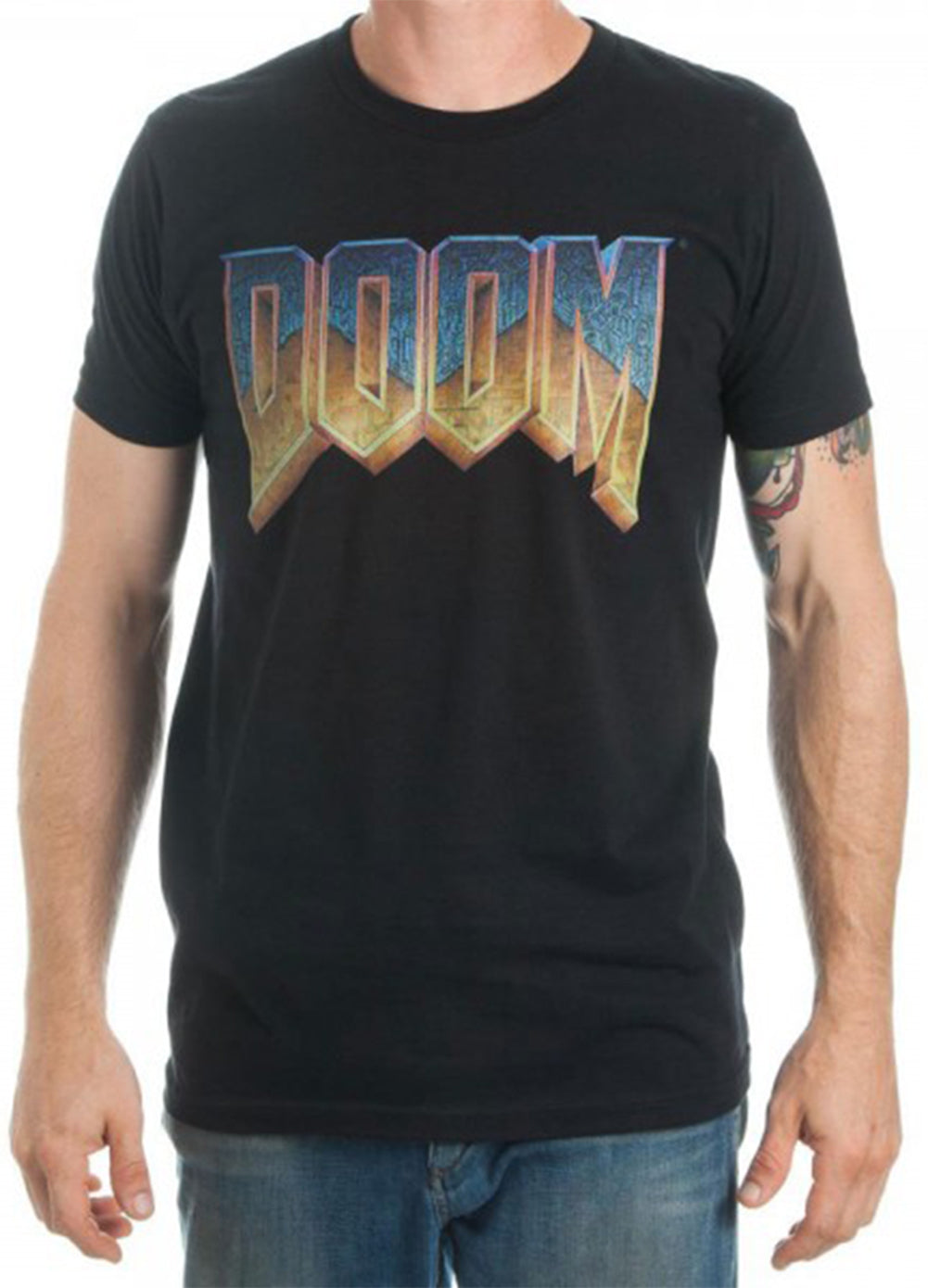 Official Doom Logo Mens T-Shirt