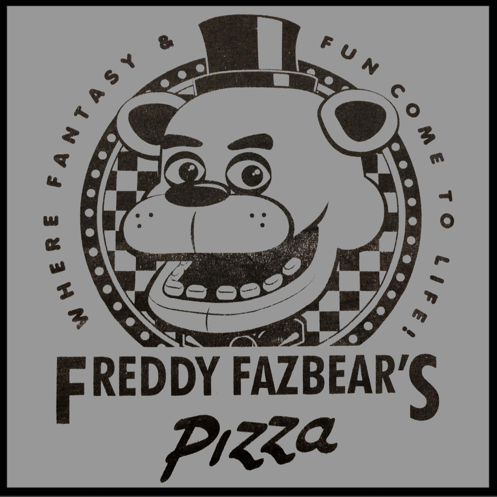 Official Five Nights at Freddy's Fazbears Pizza Mens T ...