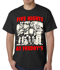 Official Five Nights At Freddy's Mens T-shirt