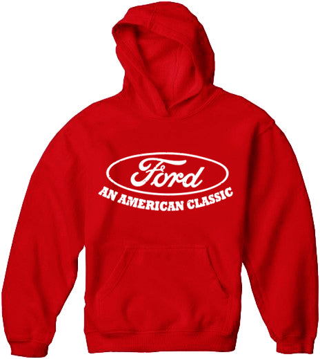 "Official Ford ""An American Classic"" Adult Hoodie"