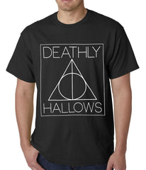 Official Harry Potter Deathly Hallows Mens T-shirt