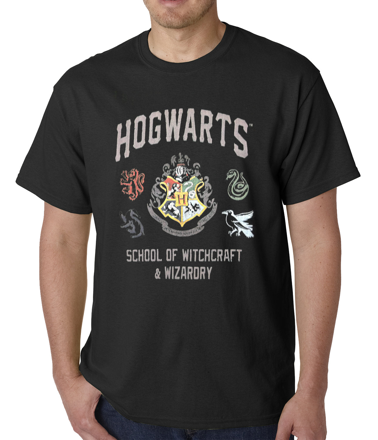 Official Hogwarts School of Witchcraft & Wizardry Mens T-shirt