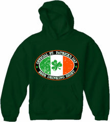 Official St. Patrick's Day Beer Drinking Adult Hoodie