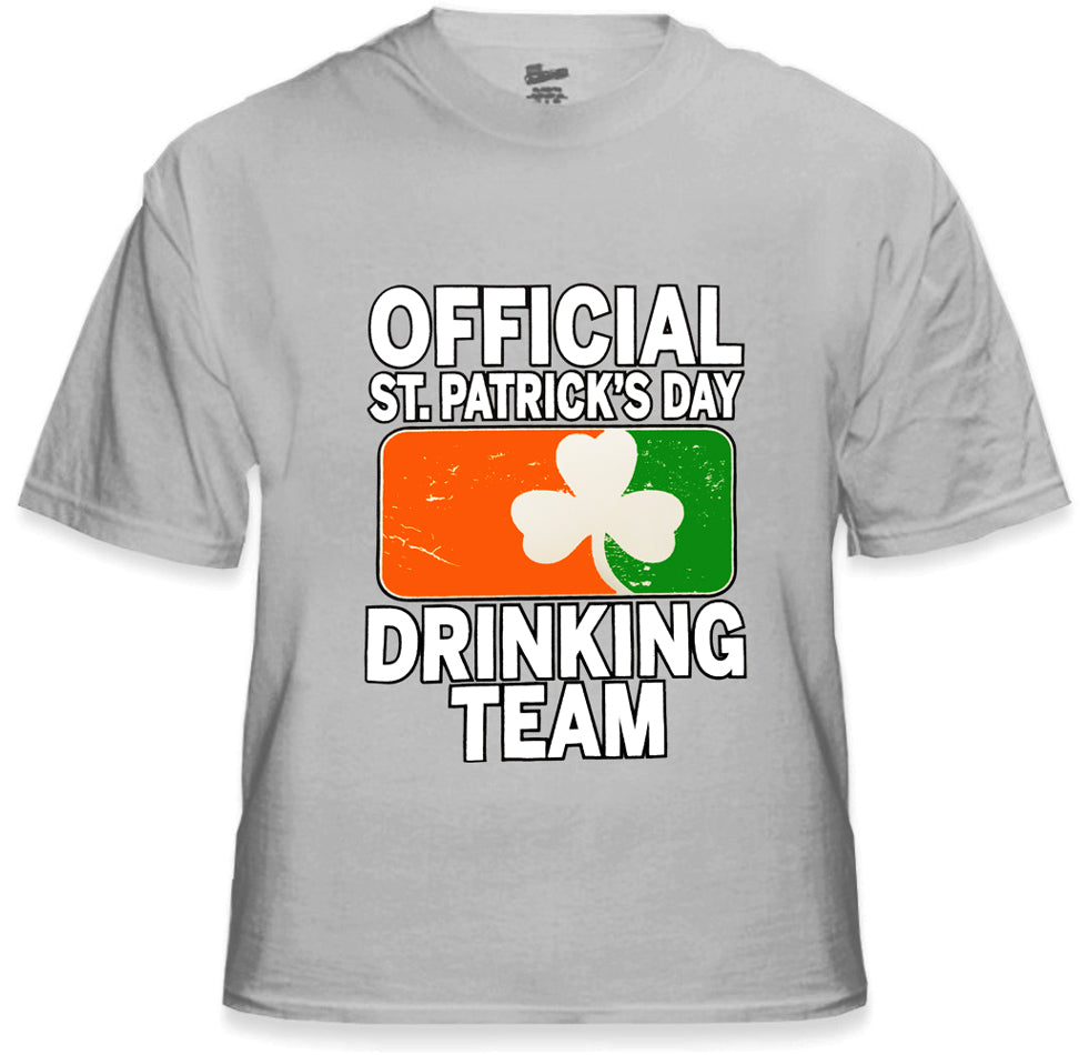 5f9df203 Official St. Patricks Day Drinking Team Men's T-Shirt – Bewild