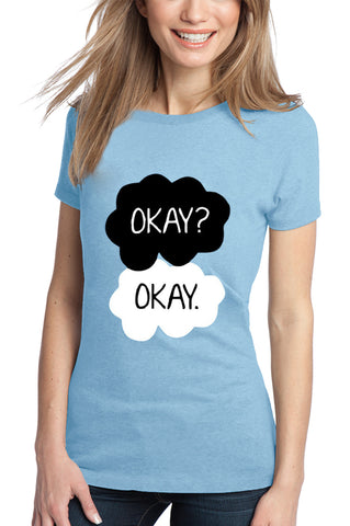 """Okay? Okay."" Quote Girl's T-Shirt"