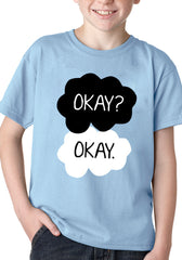 """Okay? Okay."" Quote The Fault In Our Stars Kid's T-Shirt"