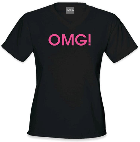 OMG! Oh My God! Girls T-Shirt