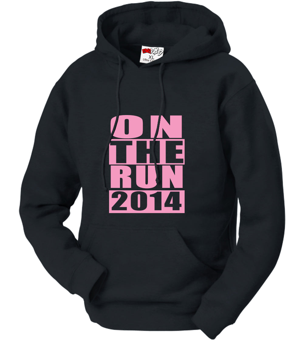 On The Run 2014 Adult Hoodie
