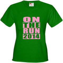 On The Run 2014 Girl's T-Shirt