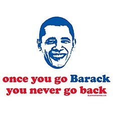 Once You Go Barack You Never Go Back Mens T-Shirt