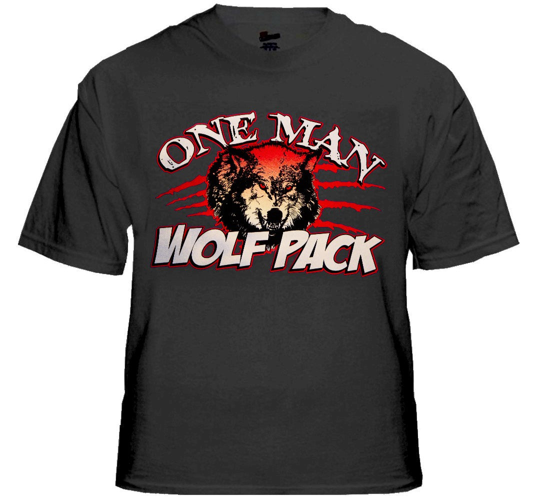"One Man Wolf Pack ""Growl"" T-Shirt"