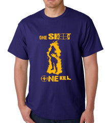 One Shot One Kill Sniper Mens T-shirt