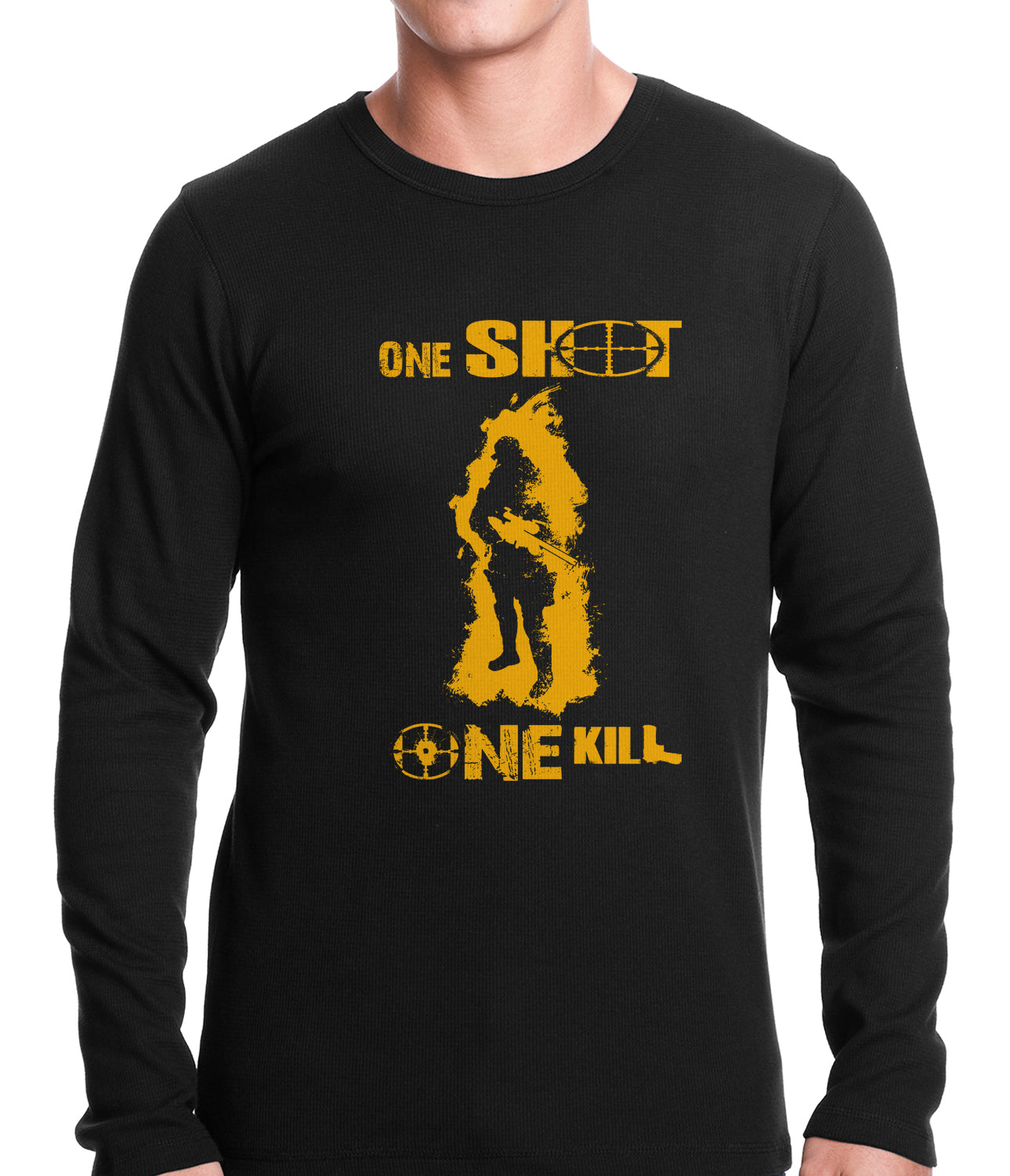 One Shot One Kill Sniper Thermal Shirt