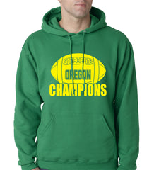 Oregon Football Champions Adult Hoodie