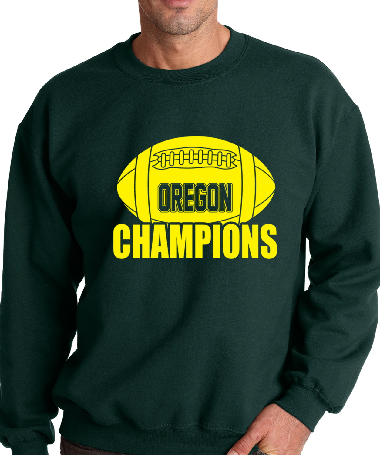 Oregon Football Champions Crewneck Sweatshirt