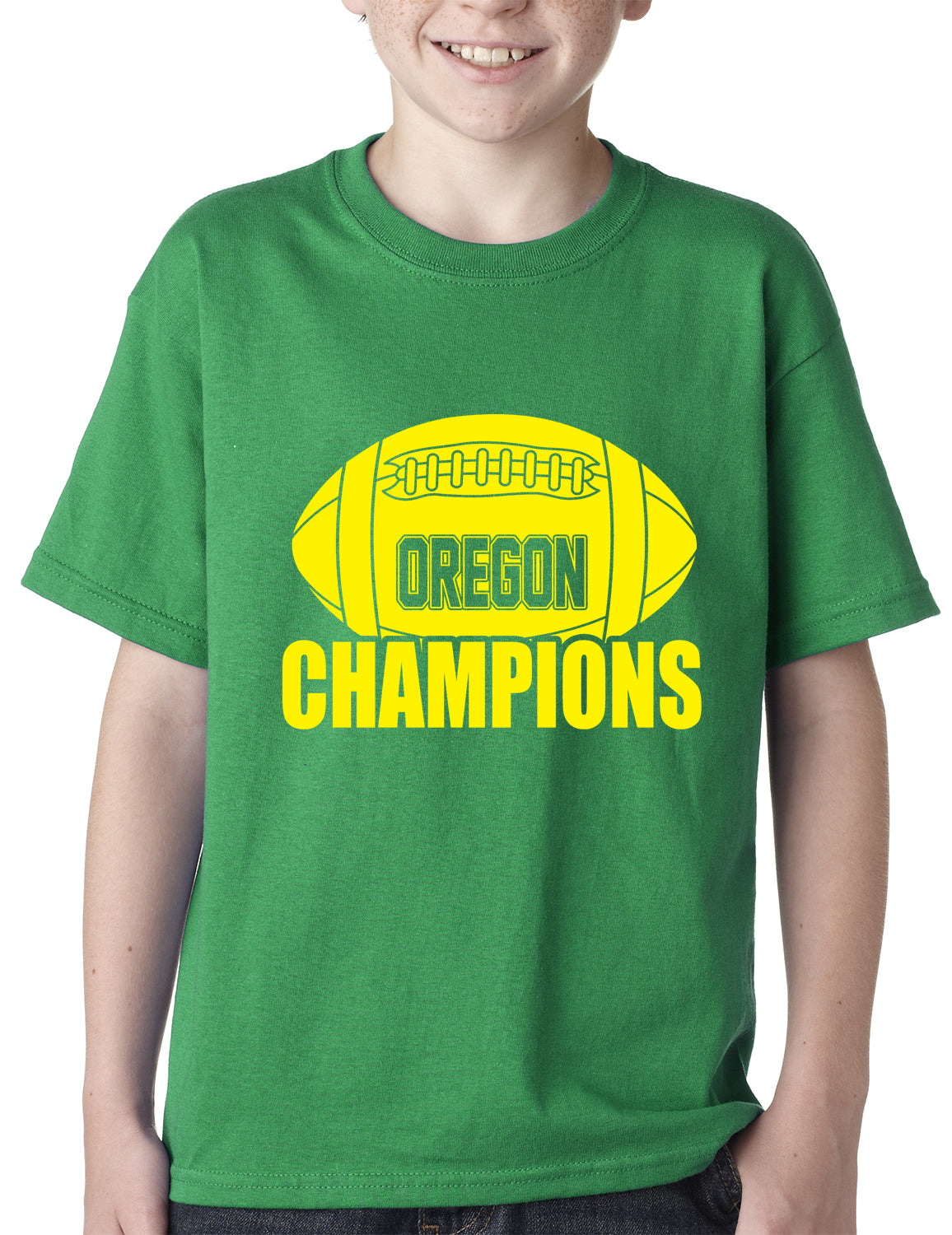 Oregon Football Champions Kids T-shirt