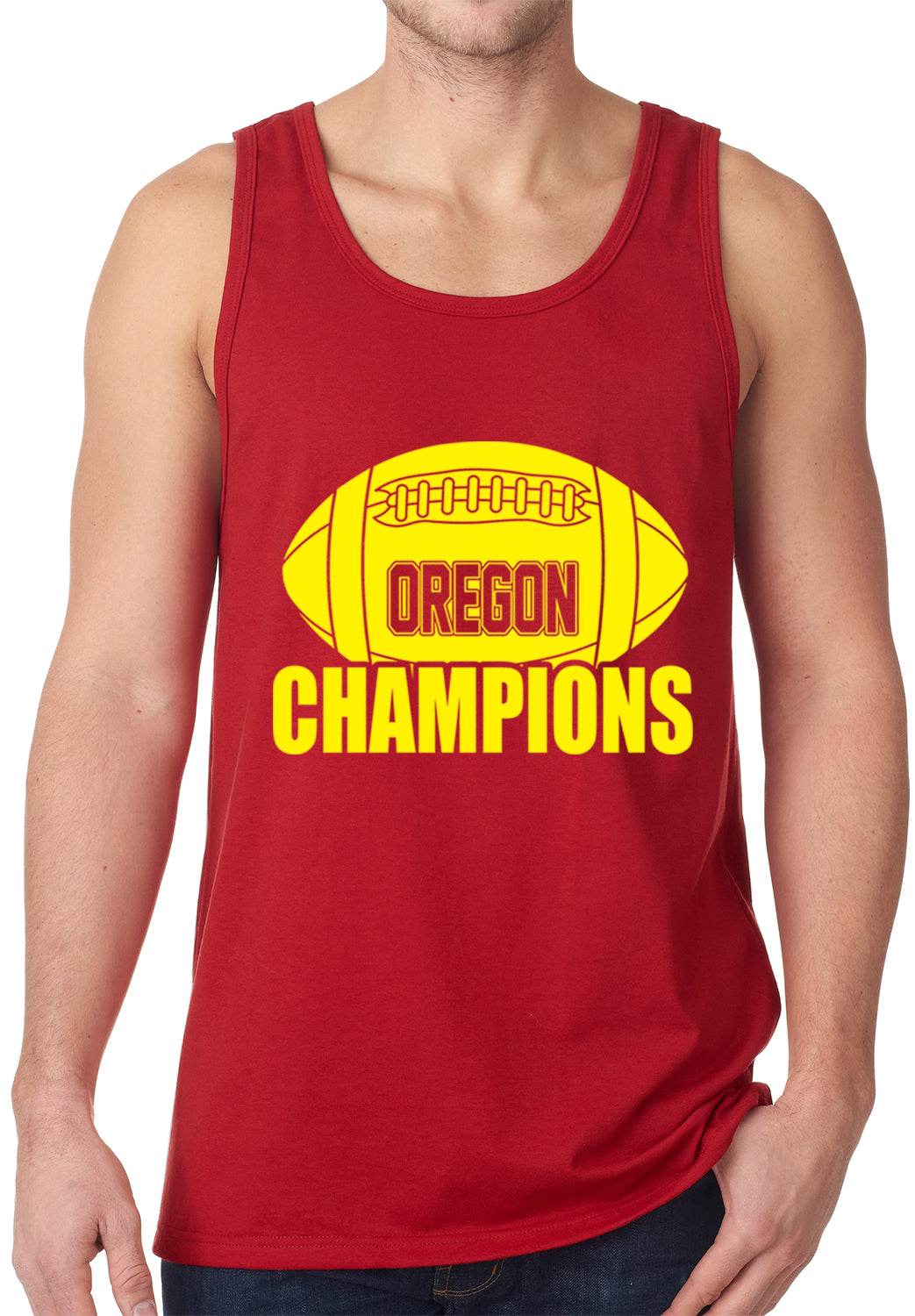 Oregon Football Champions Tank Top