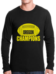 Oregon Football Champions Thermal Shirt