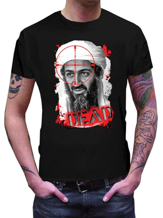 Osama Bin Laden is Dead - DEAD T-Shirt