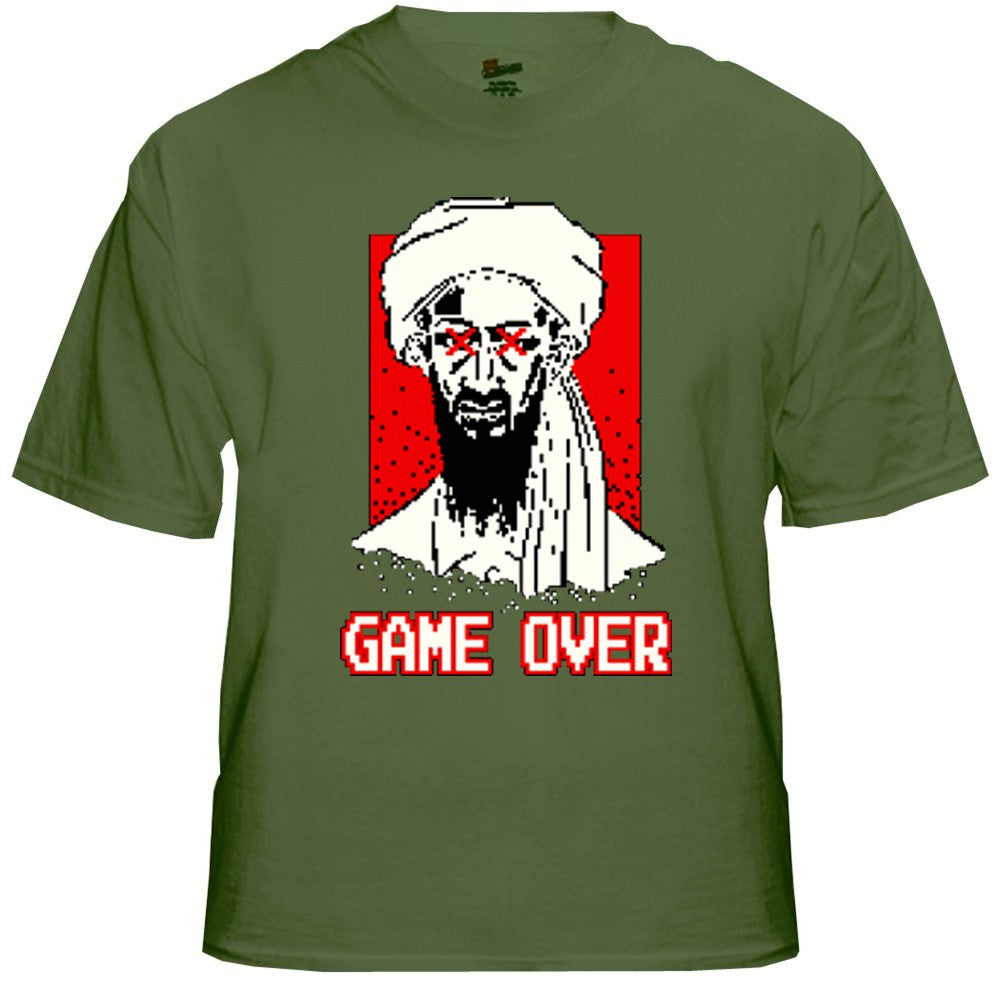 Osama Bin Laden is Dead - Game Over T-Shirt