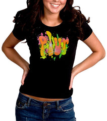 "P.L.U.R. ""Peace, Love, Unity, Respect"" Girl's T-Shirt"
