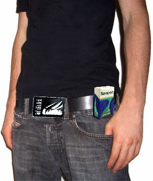 Pack of Cigarettes Holder with Belt Clip
