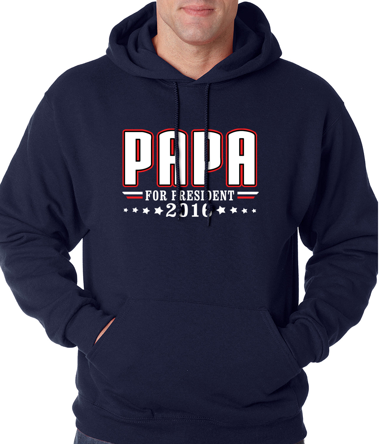 PAPA for PRESIDENT 2016 - Vote for Papa Adult Hoodie