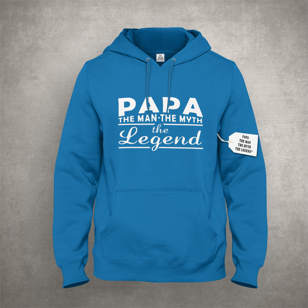 Papa - The Man, The Myth, The Legend® Fathers Day Mens Hoodie #1741