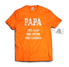 Papa - The Man, The Myth, The Legend® Fathers Day Mens T-shirt