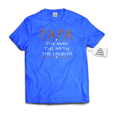 Papa The Man The Myth The Legend® Mens Bewild T-shirt