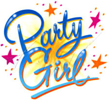 Party Girl Girls T-Shirt