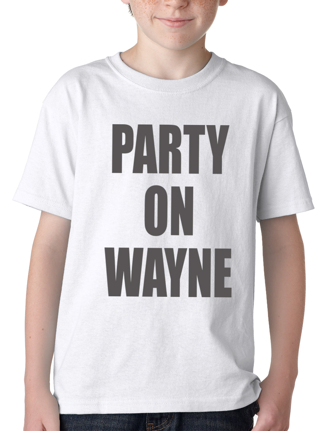 Party On Wayne Kids T-shirt