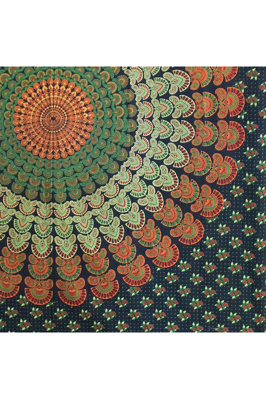 Peacock Tapestry 60 x 90""