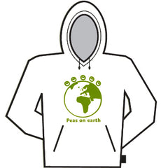 Peas On The Earth Hoodie